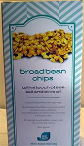Broad Bean Chips Back