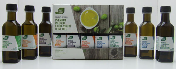 Infused Extra Virgin Olive Oils 5Pk
