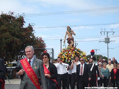 St Ilario Festa Procession