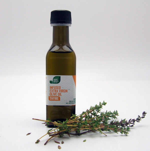 Thyme Infused Extra Virgin Olive Oil